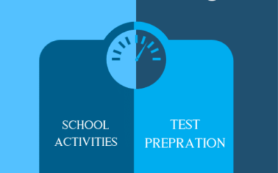 Balancing SAT test prep with regular school activities